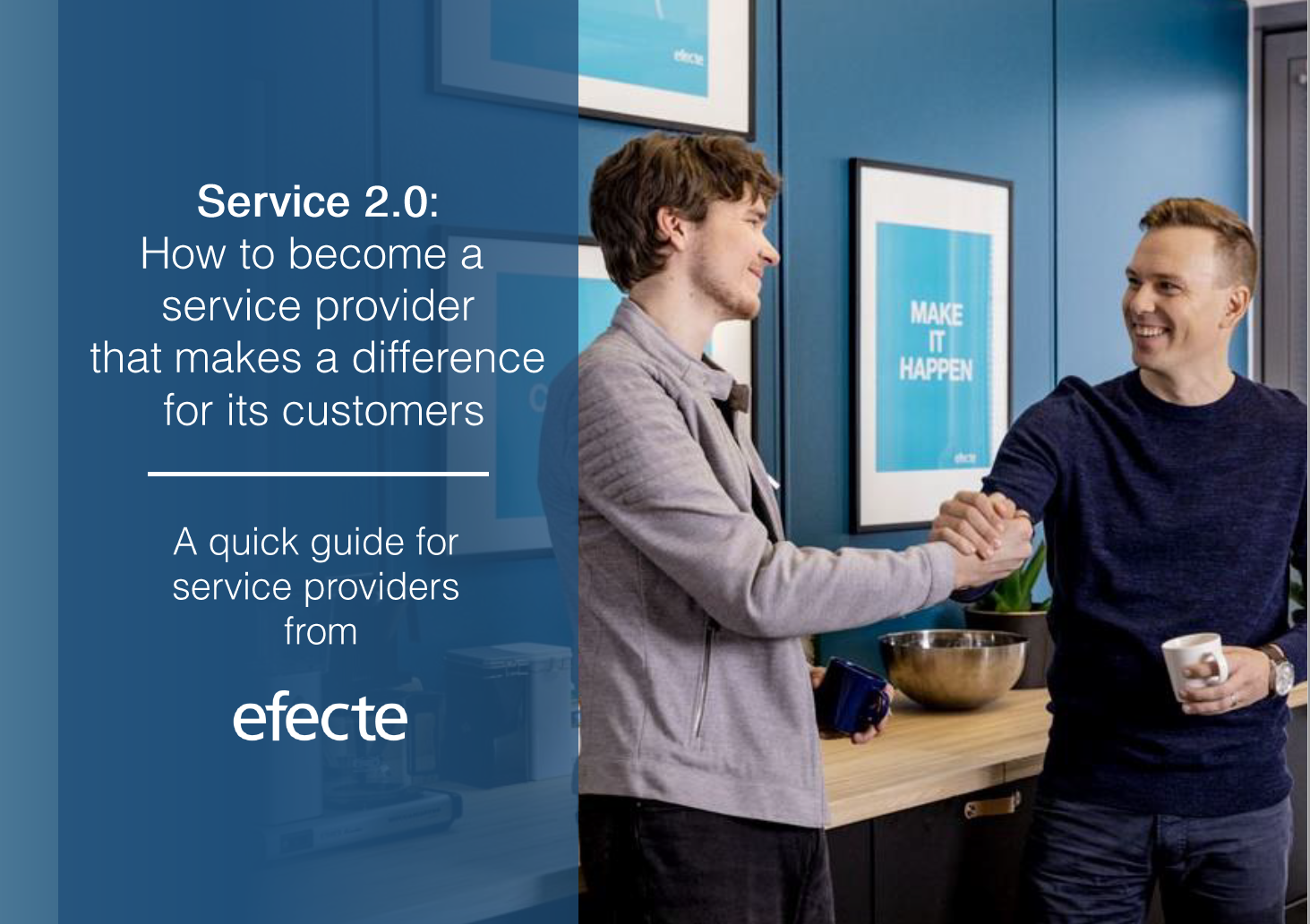 A guide for Service Providers from Efecte
