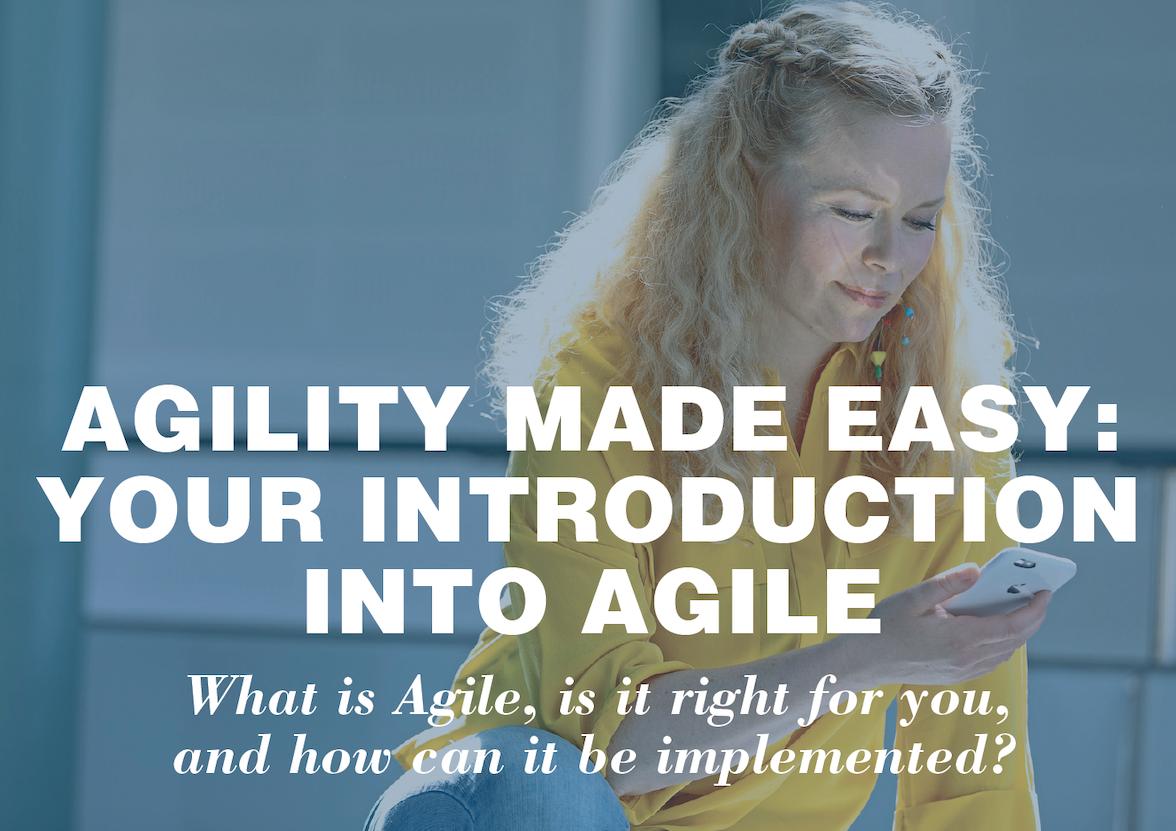 Introduction into agile